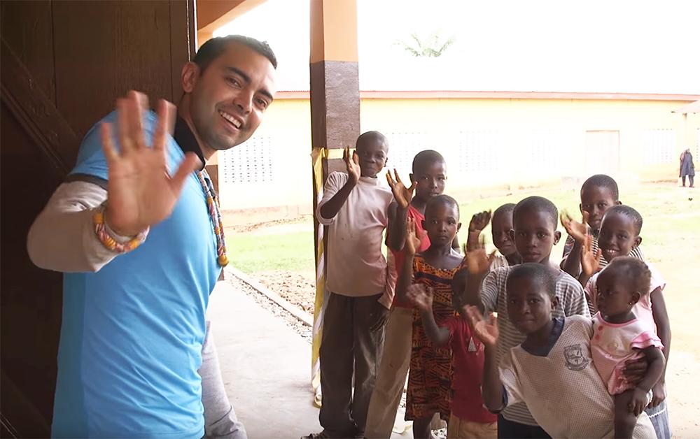 Pat Flynn in Ghana for Pencils of Promise